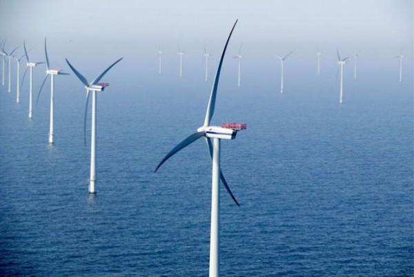 ветрогенераторы в прибрежной зоне