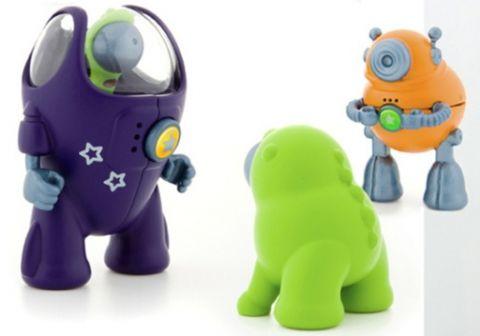 кинетически заряженные игрушки