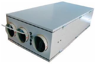приточно-вытяжной агрегат с рекуперацией тепла