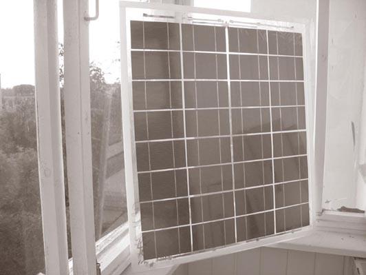 самодельная солнечная панель В. Германовича