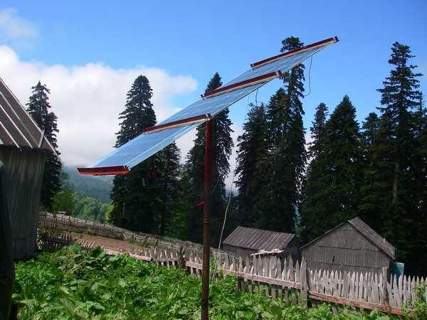 самодельная солнечная панель А. Шалыгина