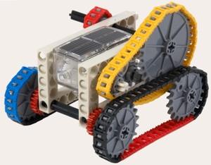 солнечный трактор игрушка