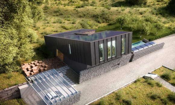 дом с нулевым энергопотреблением