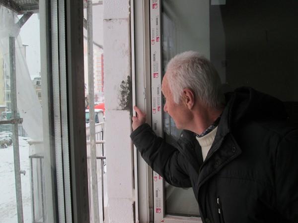 профиль оконного проема с теплоизоляцией