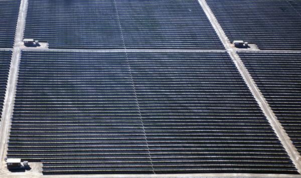 самая большая в мире солнечная электростанция