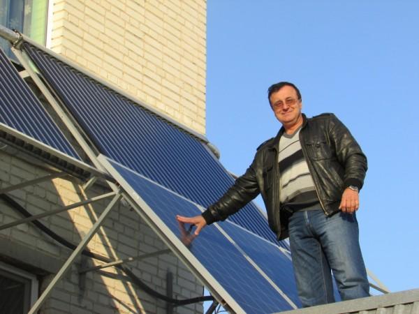 солнечную электростанция сделай сам