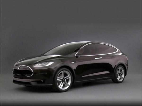 Tesla Motors кроссовер электромобиль