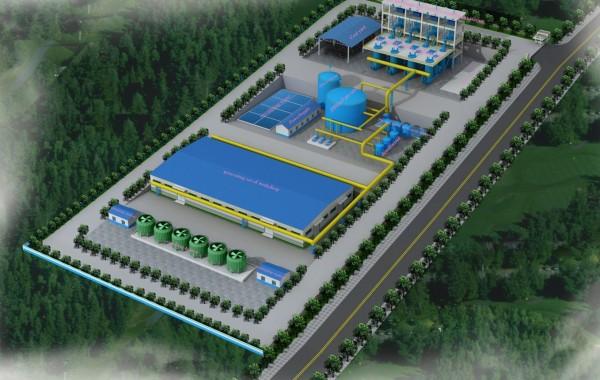 генератор на синтез-газе 500 кВт Архангельск (Россия)