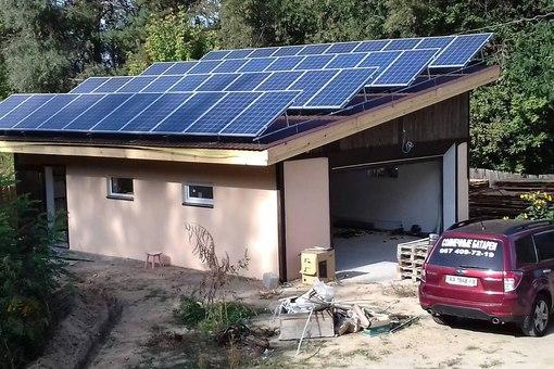 частные солнечные электростанции