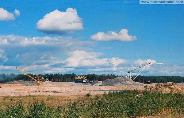 добыча бурых углей в Житомирской обл