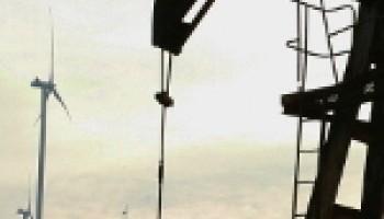 ВЭС в Карпатах дает электричество.