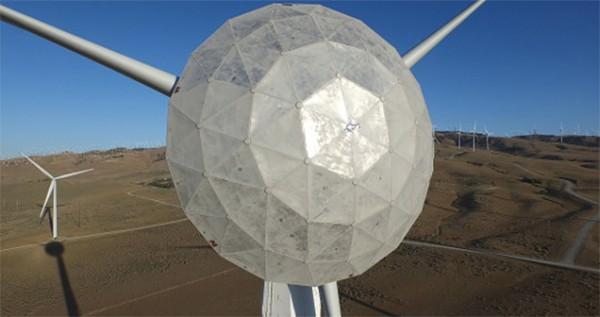 новая ветряная турбина GE
