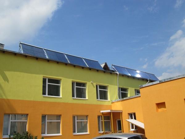 солнечный коллектор для ГВС