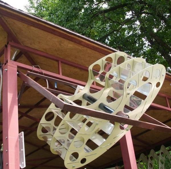 солнечный водонагреватель балконного типа