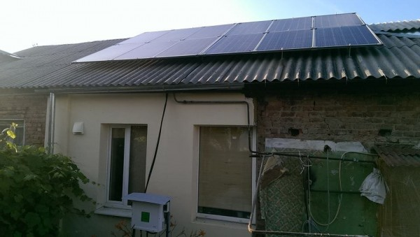 частная солнечная электростанция