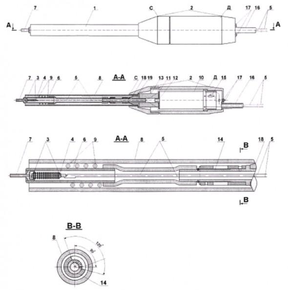 чертежи термрструйного прибора