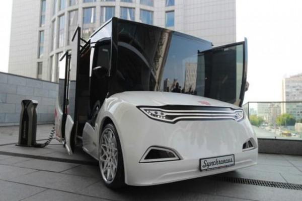электромобиль на наших дорогах