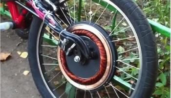 Мотор-колесо на наших дорогах