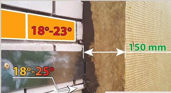 низкотемпературная система отопления на стене здания