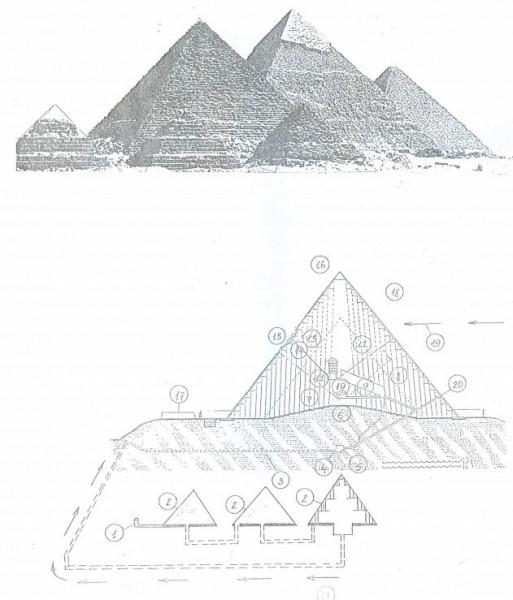 комплекс пирамид на плато Гизе