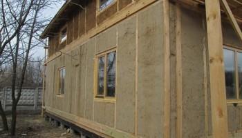 Инженерное обеспечение соломенного дома.