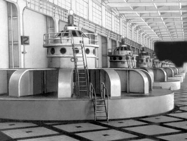 начало промышленной генерации