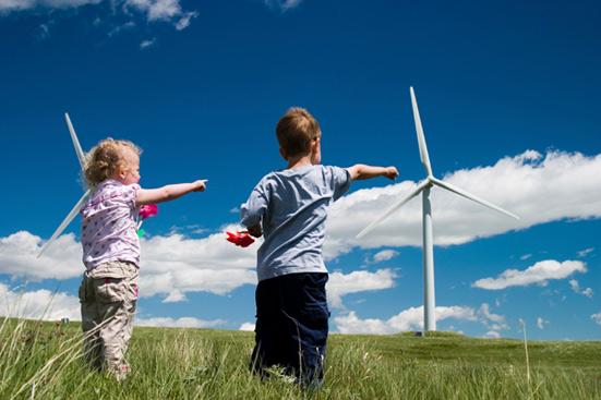 ветряки и дети