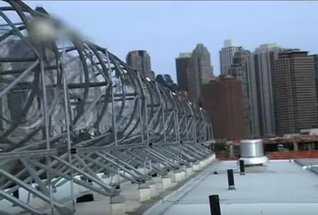 ветрогенератор в большом городе
