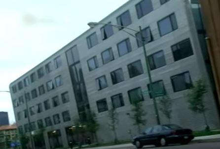 ветроулавливающее здание